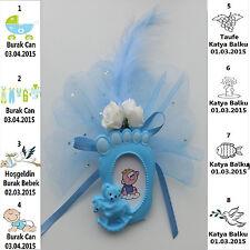 10X Bebek Sekeri Gastgeschenke BABY Taufe Mevlüt Kommunion Battesimo Geburt Sün