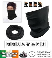 Thermal 3 in 1 Multi Use Neck Warmer Snood Face Mask Scarf Ring Winter Unisex
