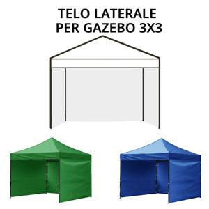 Telo Laterale per Gazebo 3X3 - 3 Lati