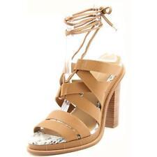 Sandalias con tiras de mujer Calvin Klein color principal beige