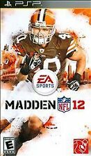 Madden NFL 12 Football (Sony PSP, 2011) Brand New Factory Y-Fold Sealed