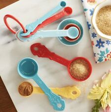 Pioneer Woman Timeless 8pc Beauty Measuring Spoon Set Melamine Chip Resistant