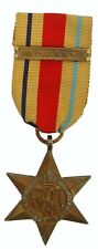 WW2 BRITISH AFRICA STAR MEDAL WITH 1ST ARMY CLASP