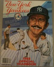 1983 New York Yankees Yearbook Poster Postcards Gossage Winfield FN+