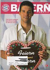 Bayern Magazin 3/54 , Bayern München - Energie Cottbus , 21.09.2002