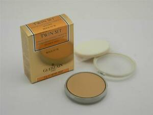Guerlain Twin Set Compact Creme Foundation SPF 15 Beige 51 New In Box Refill