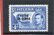 Tristan da Cunha GV1 1952 4d. ultramarine sg 6 H.Mint