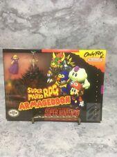 *RARE* SUPER MARIO RPG ARMAGEDDON - SNES Homebrew NEW/SEALED (c5)