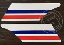 Fender Stripe Sticker Set Fits Vespa PX LML Red and Blue Mod Decals ST1