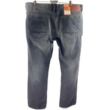 HUGO BOSS Orange Men's 40 x 34 Black Gray Jeans Zip Fly NEW