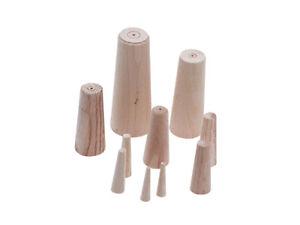 Talamex Leckpfropfen, Holz, Sortiment aus 10 Stk. Ø 8-38mm
