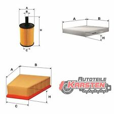 Set M: Ölfilter+Innenraumfilter+Luftfilter Filterset SEAT SKODA VW