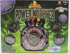 MIGHTY MORPHIN POWER RANGERS__LEGACY POWER MORPHER_20th Anniversary DieCast__MIB