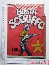 Fumetti Busta Sorpresa BUSTA SCERIFFO L. 50 Edizioni Euro Americane striscia