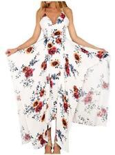 NEW LILY ROSIE Design Women MEDIUM Long FLOWING Multi Hem Length QUALITY DRESS