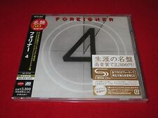 FOREIGNER - 4 - JAPAN SHM - JEWEL CASE - SEALED - WPCR-13263