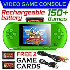 PXP3 Portable Handheld Video Game Console 16 Bit Built In 150 Games