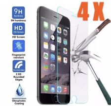 4 X Genuine New Glass For iPhone 8/7/6 Tempered Glass Screen Guard Protector