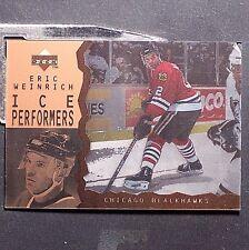 ERIC WEINRICH  1996-97  UD  Ice  Acetate Parallel  #12 Chicago Blackhawks
