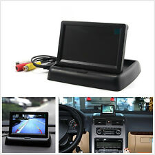 "4.3 ""Plegable Pantalla TFT Color LCD Car Reverse Retrovisor De Seguridad Monitor Estacionamiento"