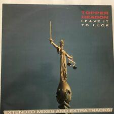 """Topper Headon Leave It To Luck 12"""" Vinyl 45 rpm lp Vintage Punk The Clash Import"""