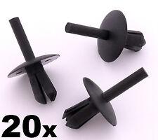 20x IVECO cornice bordo di plastica CLIP- RIVETTO PER PARAURTI, CUSCINETTI,
