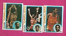 1978-79 TOPPS BASKETBALL CLEVELAND CAVALIERS  NRMT-MT  CARD LOT (INV# C5132)