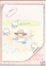 TINY CANDY 80s Gakken Mondadori italy notebook school - quaderno scuola 014