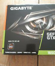 GIGABYTE GeForce GTX 1650 MINI ITX OC 4G 4GB GDDR5 Graphics Card.