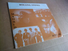 Rolling Stones – Madrid July-1982 rare live double LP Not Tmoq NM