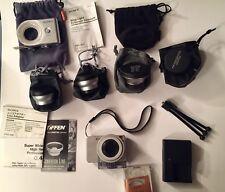 Sony Cyber-shot DSC-W120 7.2 MP 4x Optical Zoom Lens Silver Huge Bundle