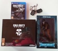 "Collector's edition CALL OF DUTY GHOSTS"" prestige edition""+ figure ps4"