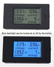 AC 20A 80-220V LCD Digital Watt Current Power Voltage Meter Ammeter Voltmeter
