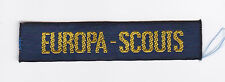 SCOUT OF BELGIUM - FEDERATION SCOUTS EUROPEAN (FSE) EUROPA-SCOUTS BADGE