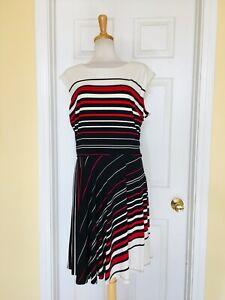 R & K striped dress size XL