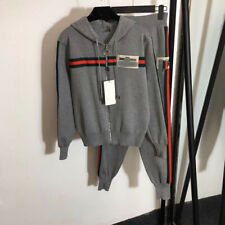 Luxury Women Casual Knitting Coat+Pants Suits 2020 Autumn 2/pcs Wholesale New