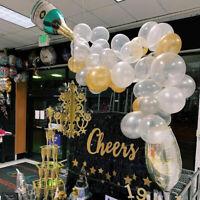 41Pcs Globos de Botella de Champán Confeti Látex Decoración Fiesta Boda