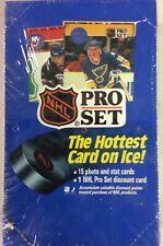 1990-91 Pro Set Hockey Series 1 Factory Sealed Box