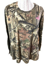Ladies Size Large MOSSY OAK Break-up Infinity Camo Long Sleeve Shirt  XL Women's