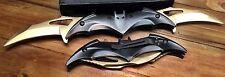 Batman Knife Spring Assisted Folding Blade Pocket Dark Knight Tactical Joker GD