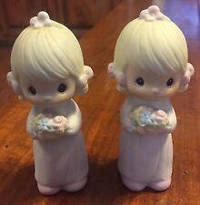 2 Precious Moments Bridemaids