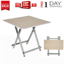 Wood 5-piece Folding TV Tray & Snack Table  Home Dining Table Storage table