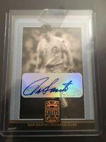 2005 Donruss Greats Gold Signature SP Ron Santo Chicago Cubs HOF RARE
