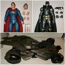 DC Films (Collectibles) Armored Batman. Superman. Multiverse Batmobile