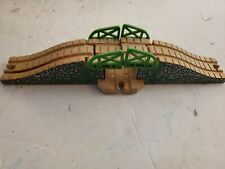 Thomas the Train Wooden Railway Green Stone Drawbridge Bridge 2001 Gullane