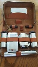 Gentlemans Travel Leather Toiletry Case