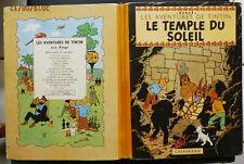 E.O de 1949 C    TINTIN   LE  TEMPLE  DU  SOLEIL - 4° plat B 3 - DJ