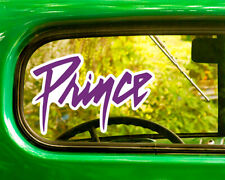 2 PRINCE BAND DECALs Sticker Bogo For Car Window Bumper Laptop Free Shipping