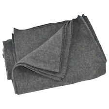Large Gray Wool Army/Military Type Blanket Surplus Style Emergency/Survival Gear