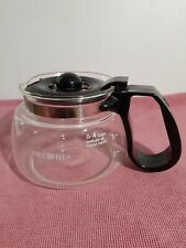 Mr Coffee Replacement Glass Carafe With Lid For 3 - 4 Cup Pot For NL-DR-CG-DRX5